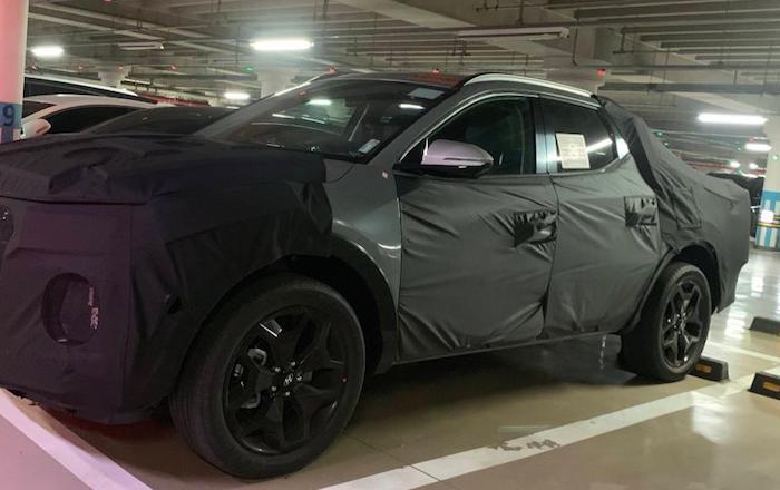 Новый пикап Hyundai засняли на тестах 1