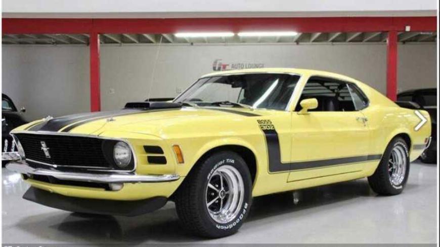 На продажу выставили 50-летний Ford Mustang Boss 302 1