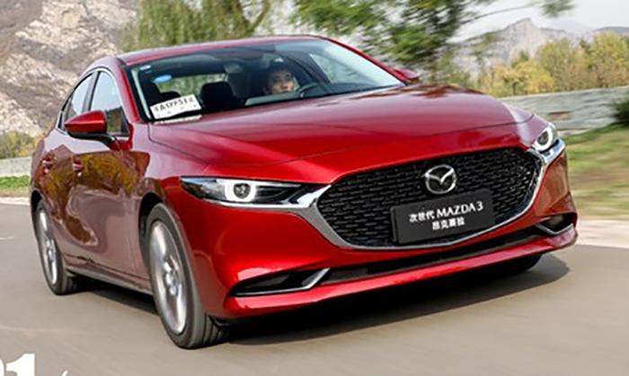 На рынок выходит Mazda3 с инновационным мотором 1