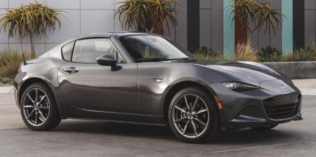 Mazda MX-5 может превратиться в электрокар 1