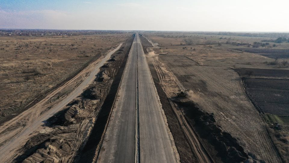 Как продвигается строительство современной автотрассы «Днепр – Решетиловка» 4
