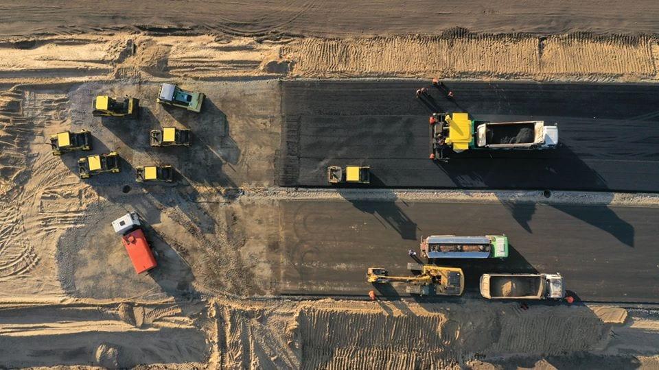 Как продвигается строительство современной автотрассы «Днепр – Решетиловка» 3