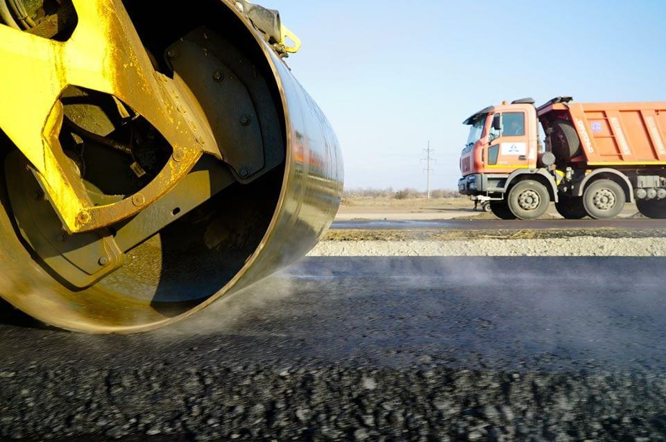 Как продвигается строительство современной автотрассы «Днепр – Решетиловка» 1