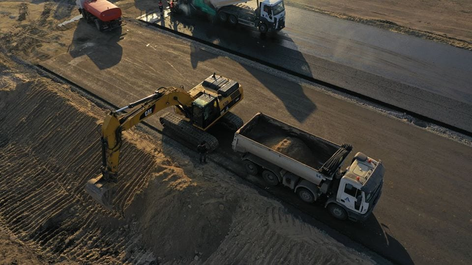 Как продвигается строительство современной автотрассы «Днепр – Решетиловка» 2
