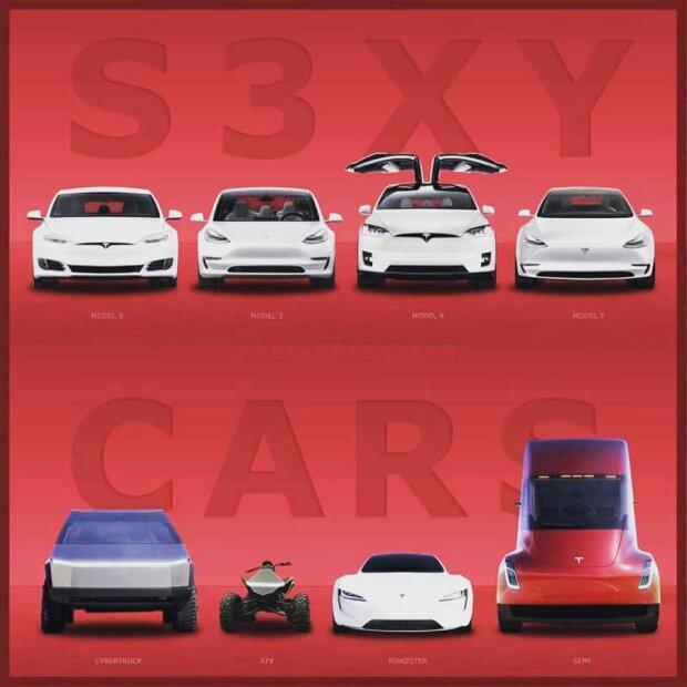 Какая тайна скрыта в названиях моделей Tesla 1
