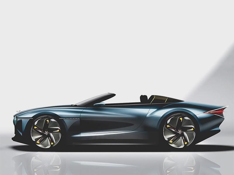 Bentley выпустит шикарный кабриолет 1