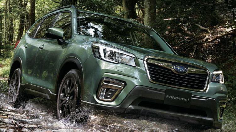 Subaru Forester обзавелся специальной версией 1