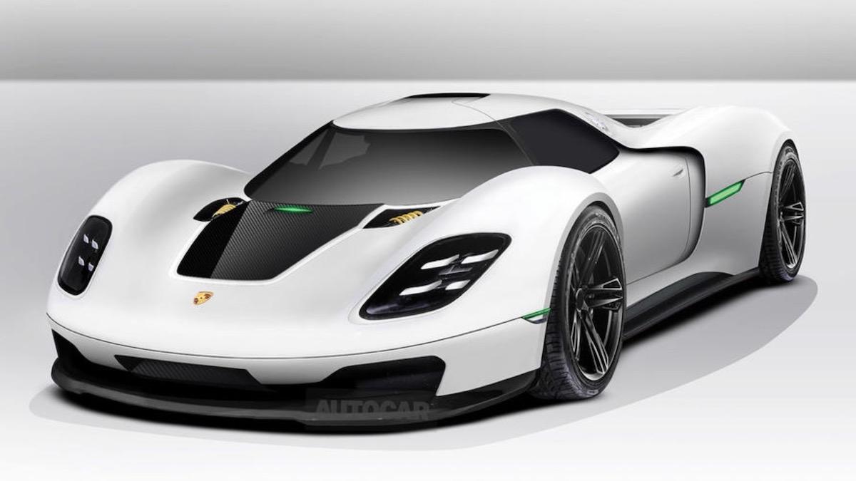 Porsche установит в новый гиперкар двигатель от болида Формулы-1 1