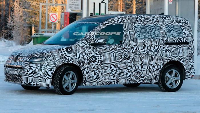 Новейший VW Caddy Sports вышел на испытания 2