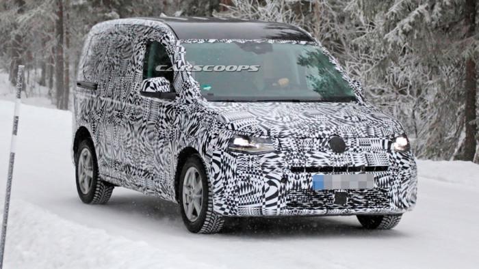 Новейший VW Caddy Sports вышел на испытания 1