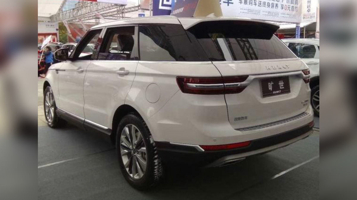 Китайская копия Range Rover Sport оказалась в пять раз дешевле оригинала 2