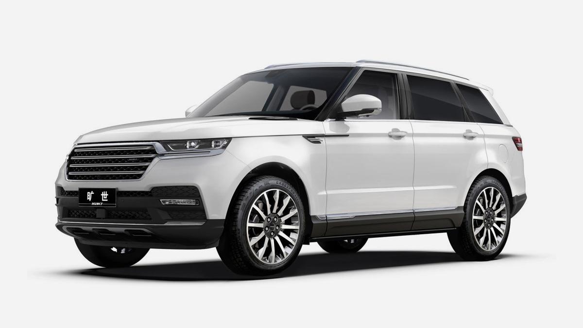 Китайская копия Range Rover Sport оказалась в пять раз дешевле оригинала 1