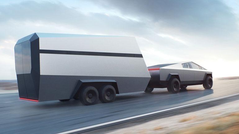 Пикап Tesla Cybertruck впервые замечен на дороге 1