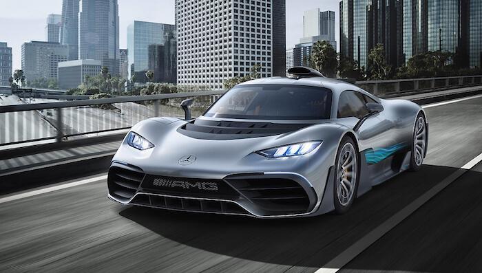 Гиперкар Mercedes-AMG One доберется до покупателей в 2021 году 1