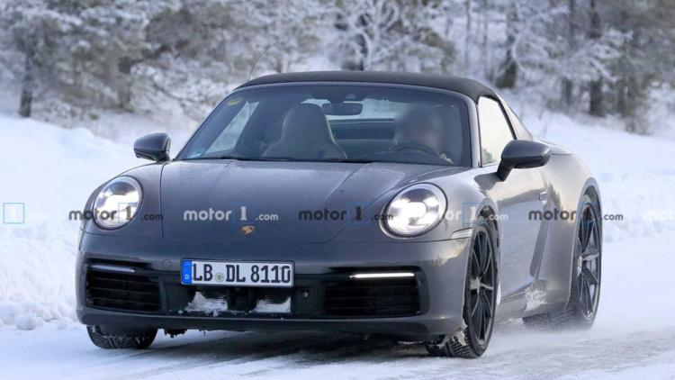 Porsche 911 Targa проходит испытания в Арктике 1