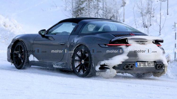 Porsche 911 Targa проходит испытания в Арктике 2