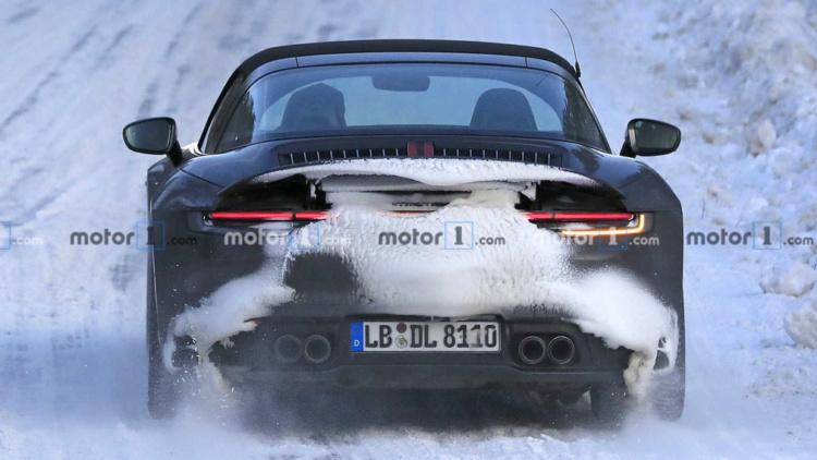 Porsche 911 Targa проходит испытания в Арктике 3