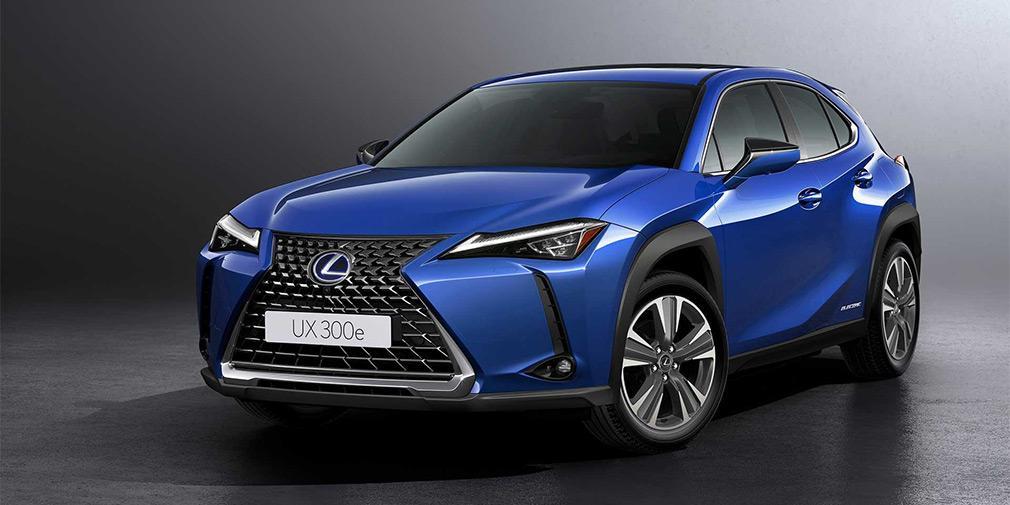 Lexus презентовал свой первый электромобиль 1