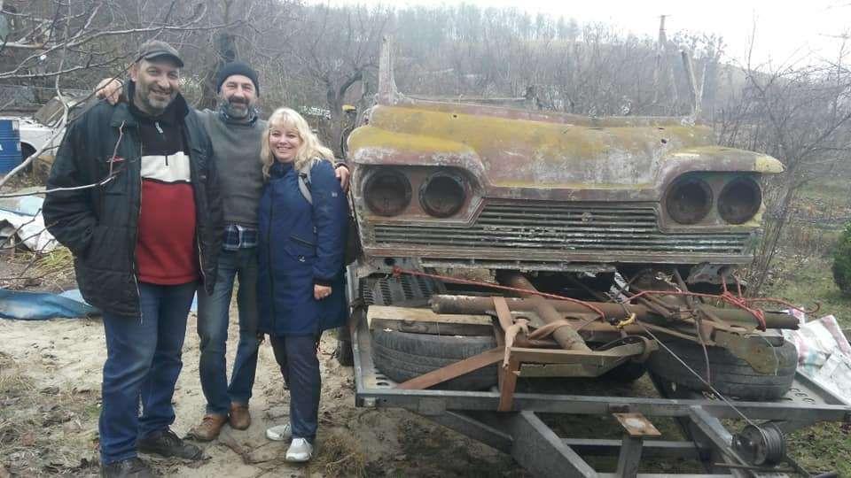 Найден фрагмент уникального украинского микроавтобуса «Старт» 1