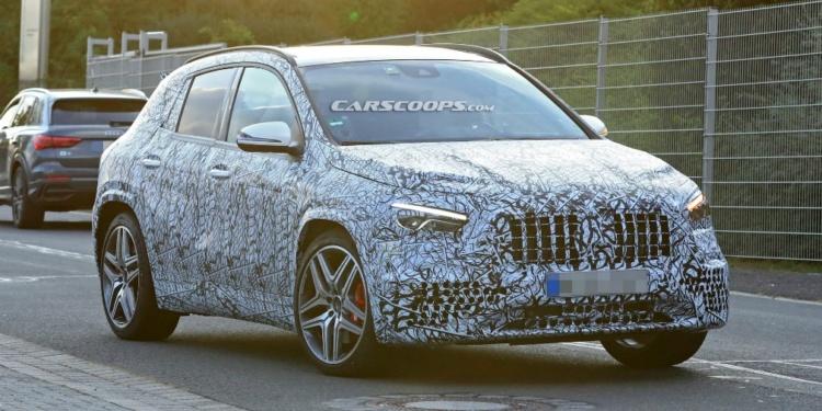 Mercedes-Benz озвучил дату дебюта нового GLA 1