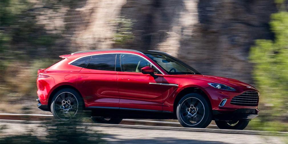 Aston Martin оснастит кроссовер DBX более мощным мотором V12 1