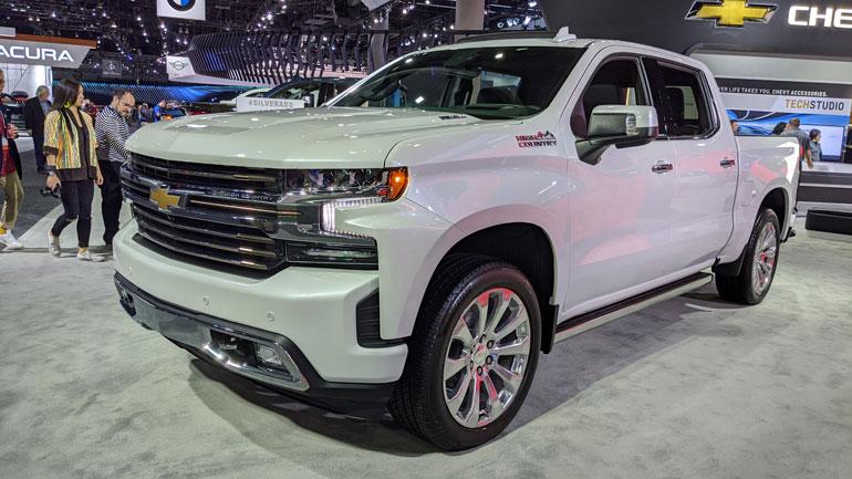 Chevrolet представил обновленный Silverado High Country 1
