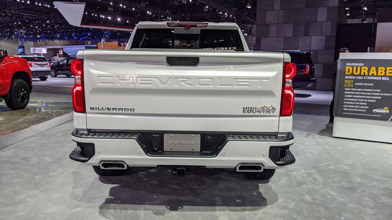 Chevrolet представил обновленный Silverado High Country 2