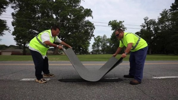Американцы создали «пластырь» для дорог 1