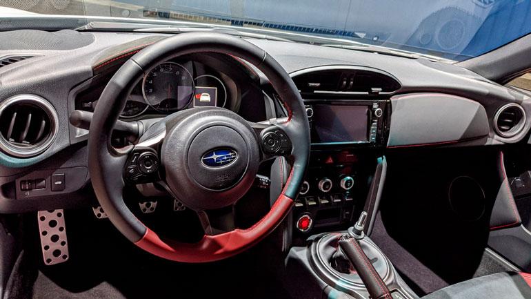 В Лос-Анджелесе показали спецверсии Subaru BRZ tS 2