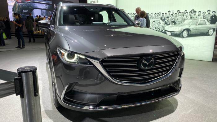 Mazda презентовала обновленный кроссовер CX-9 1
