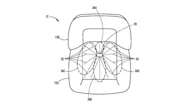 Ford запатентовал технологию для сушки автомобильных сидений 1