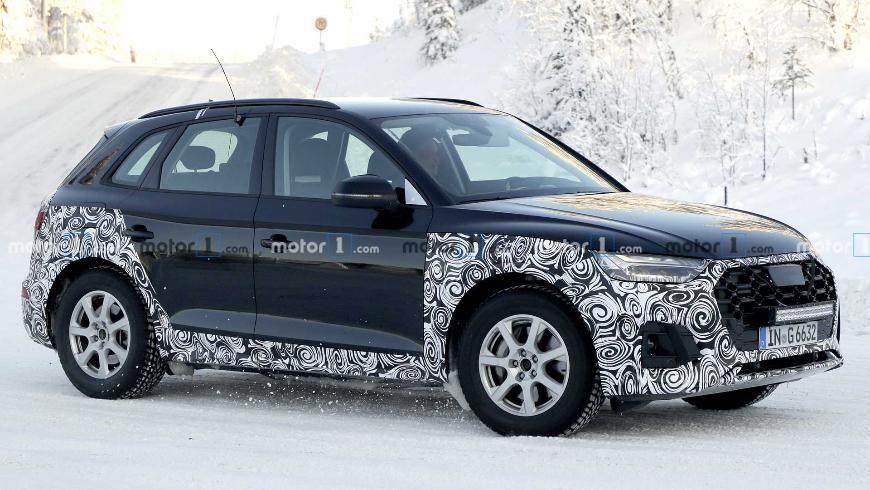 Audi вывела на тесты обновленный Q5 1