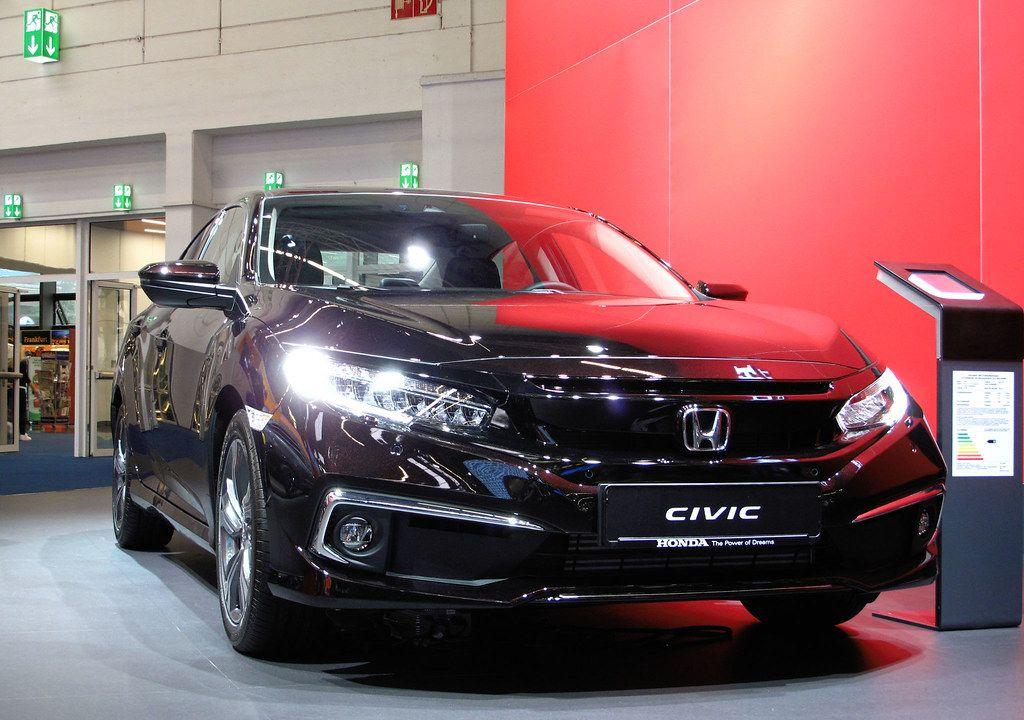 Новый Honda Civic добрался до Европы 1