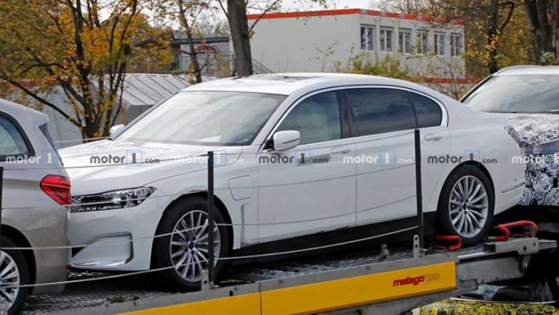 Электрический BMW i7 впервые попался фотошпионам 1