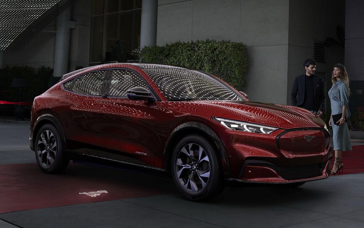 Ford представил внедорожный Mustang 1