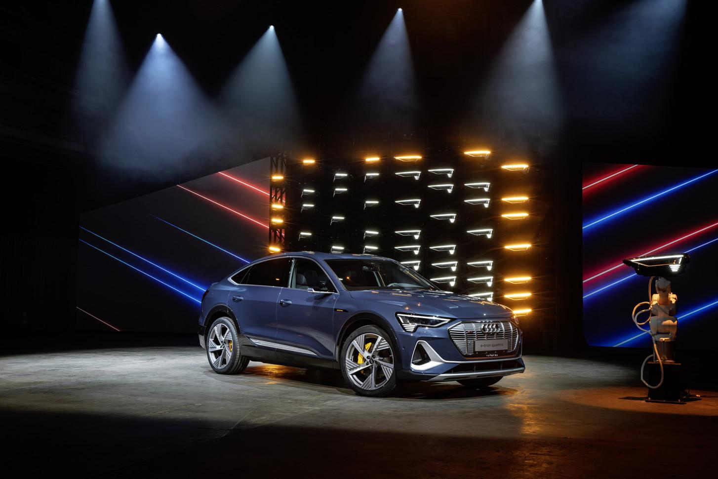 Audi показала «спортивный» электромобиль 1