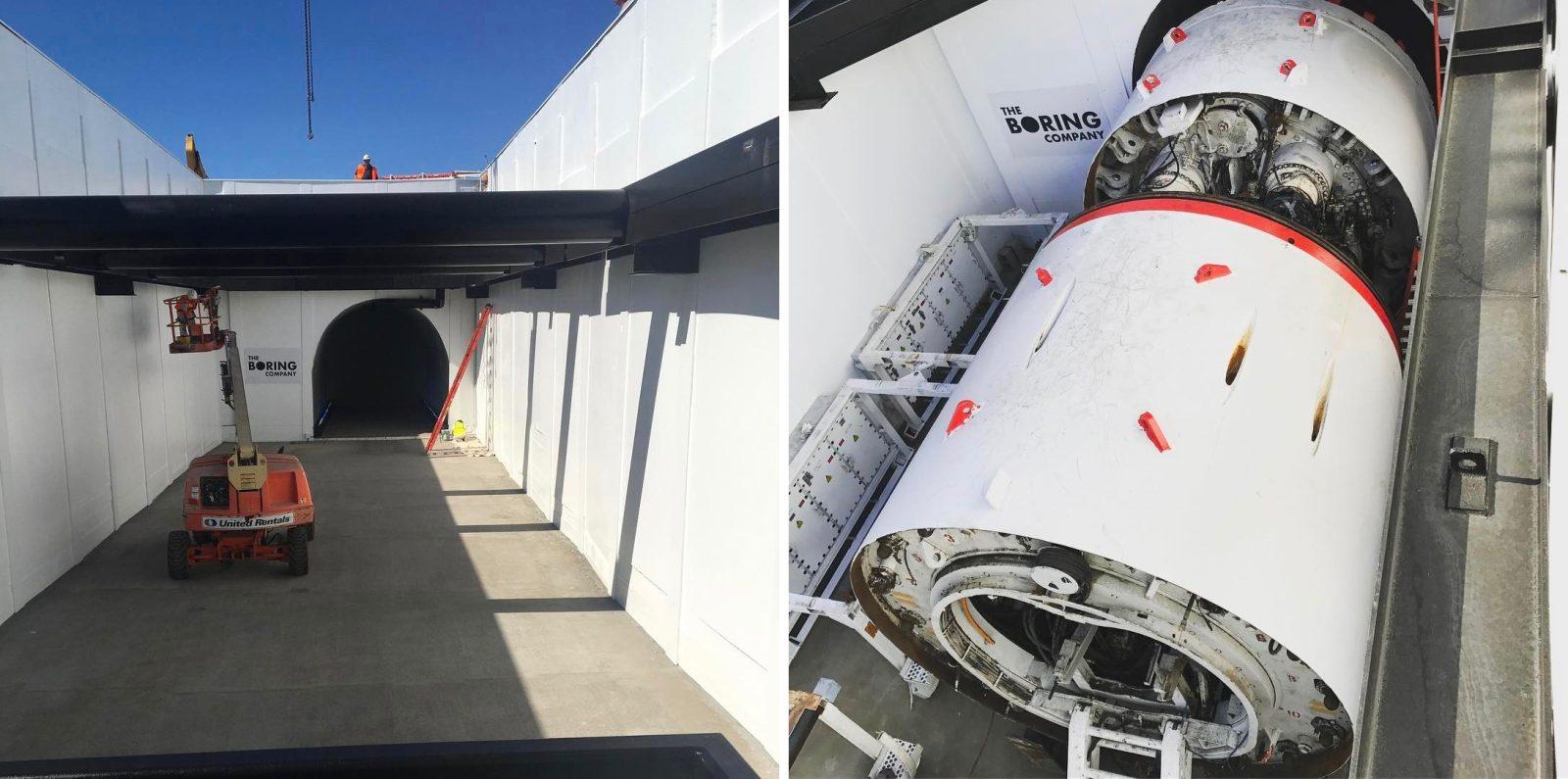 Илон Маск приступил к сооружению тоннеля под Лас-Вегасом 1
