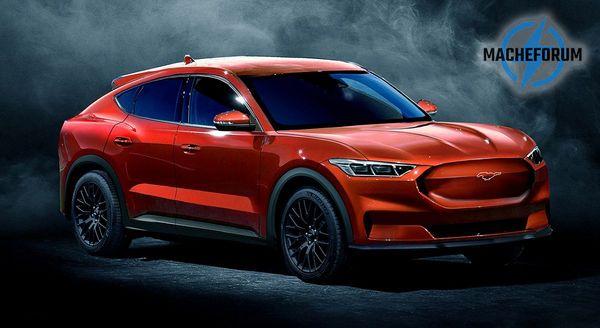 Ford раскрыл дату премьеры кроссовера в стиле Mustang 1