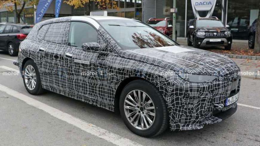 Новый электрокросс BMW получил имя iX 1