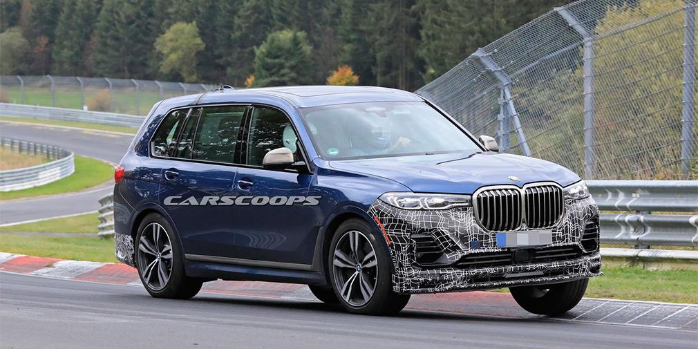 Alpina начала финальные тесты мощнейшей версии BMW X7 1