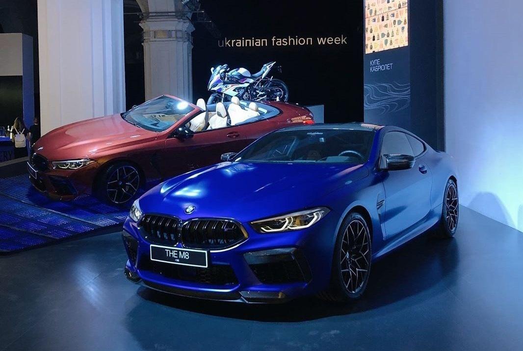 В Киеве купили самый крутой BMW M8 1