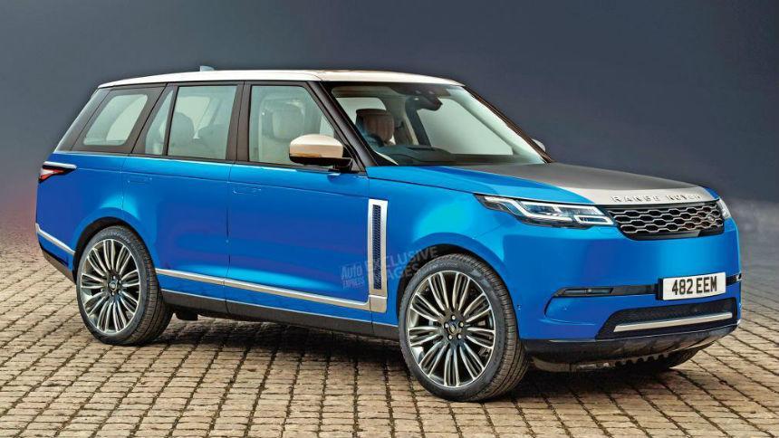 Первые изображения нового Range Rover на батарейках 1