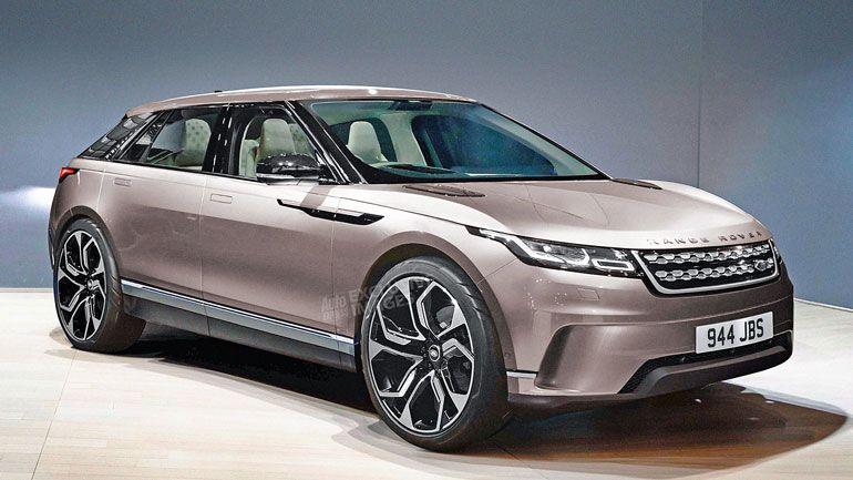 Land Rover представит совершенно новый кроссовер 1