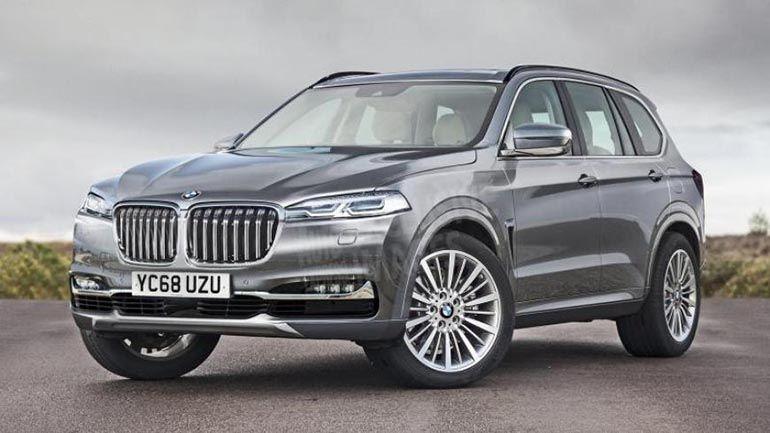 BMW X7 может стать водородомобилем 1