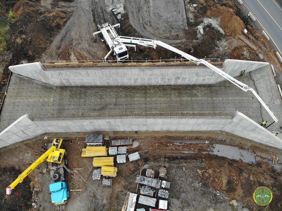 В Сети показали фото с масштабного строительства развязки на трассе Киев – Харьков 1