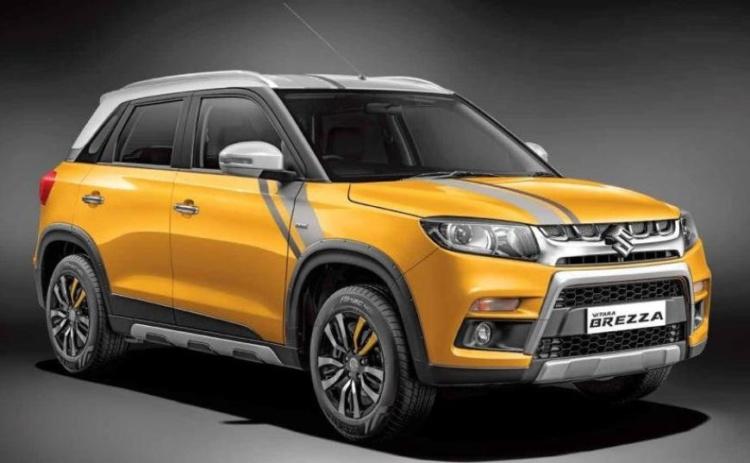 Кроссовер Suzuki Vitara Brezza бьет рекорды продаж 1