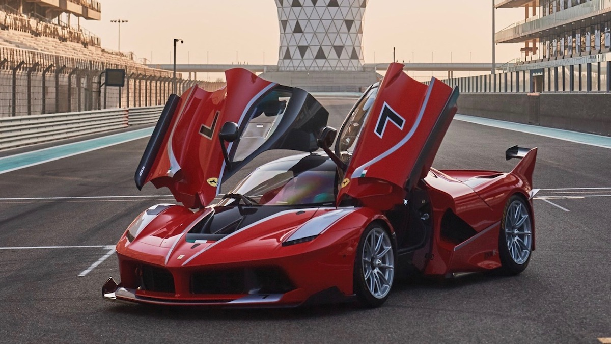 Гоночный Ferrari, который никогда не участвовал в гонках, выставили на торги 1