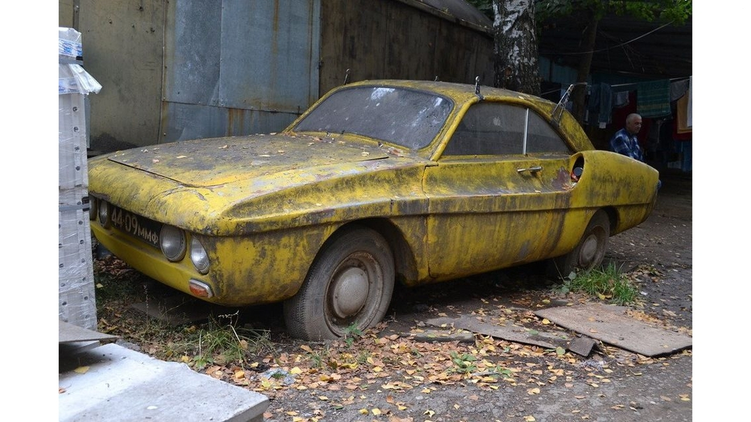 В Сети появились фото редчайшего автомобиля ЗАЗ 1