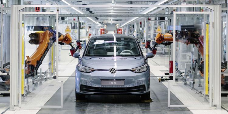 Стартовал серийный выпуск электрокара Volkswagen ID.3 1