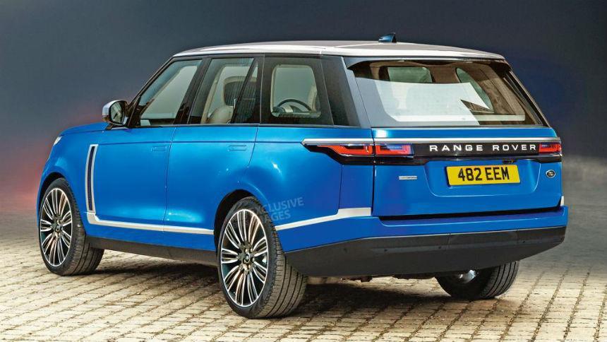 Первые изображения нового Range Rover на батарейках 2